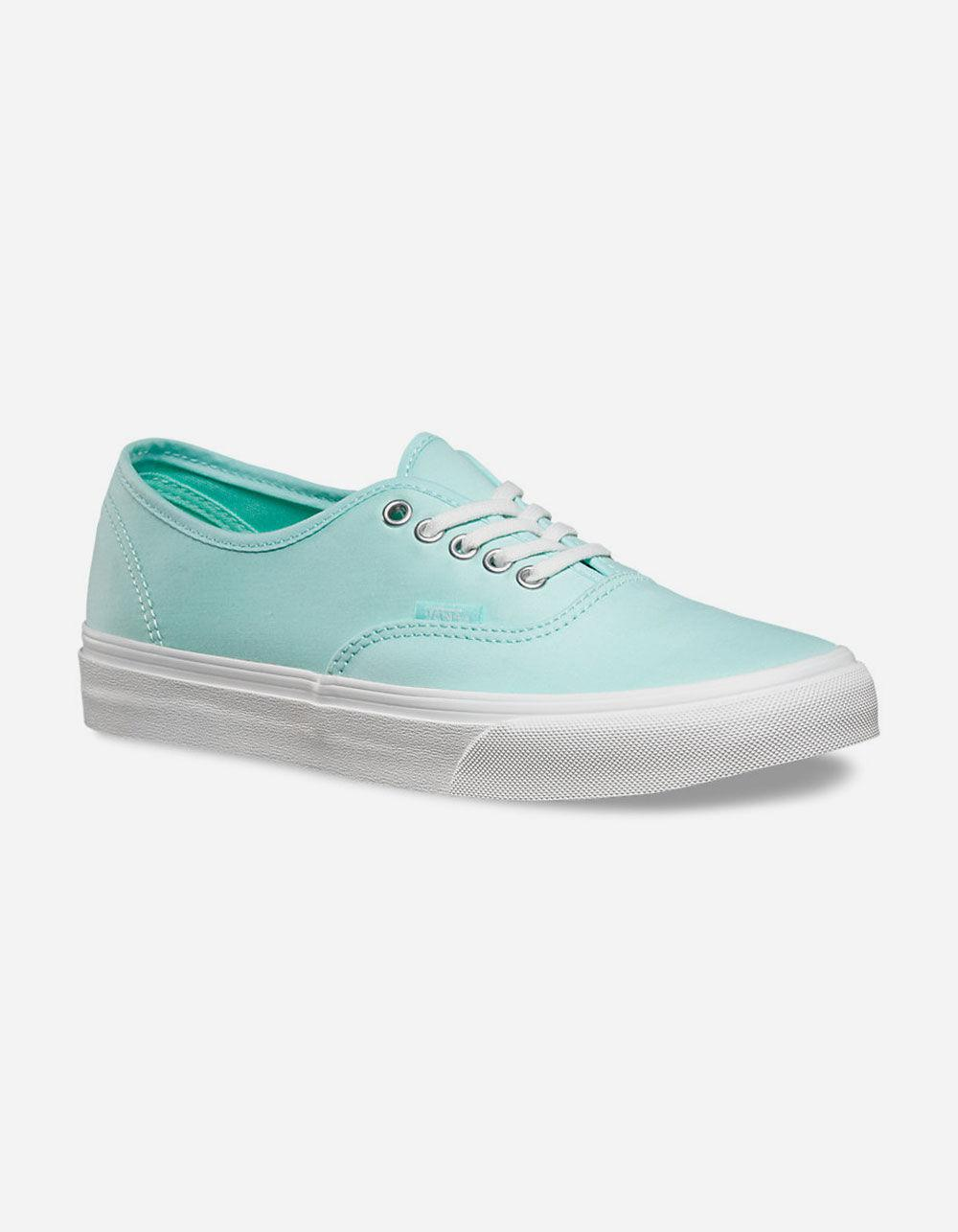 28b279bcb4 Lyst - Vans Brushed Twill Authentic Slim Womens Shoes