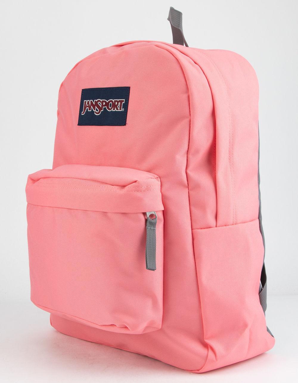 Jansport Superbreak Backpack Pink | Fitzpatrick Painting