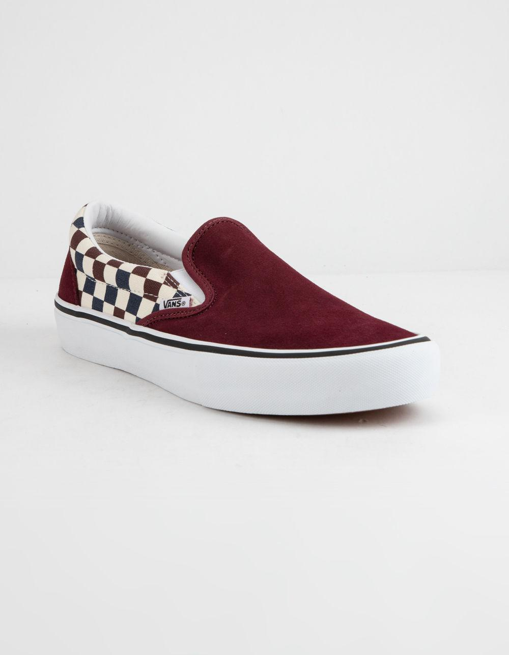 26423f6a8f74 Lyst - Vans Checkerboard Slip-on Pro Port Royal Royal Shoes in Red