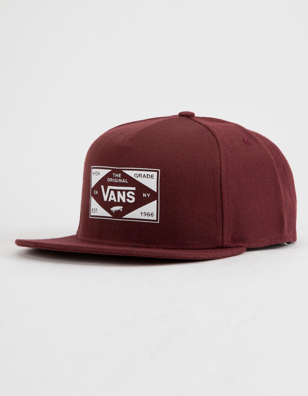 Lyst - Vans Best In Class Mens Snapback Hat in Red for Men 78efbf8a1