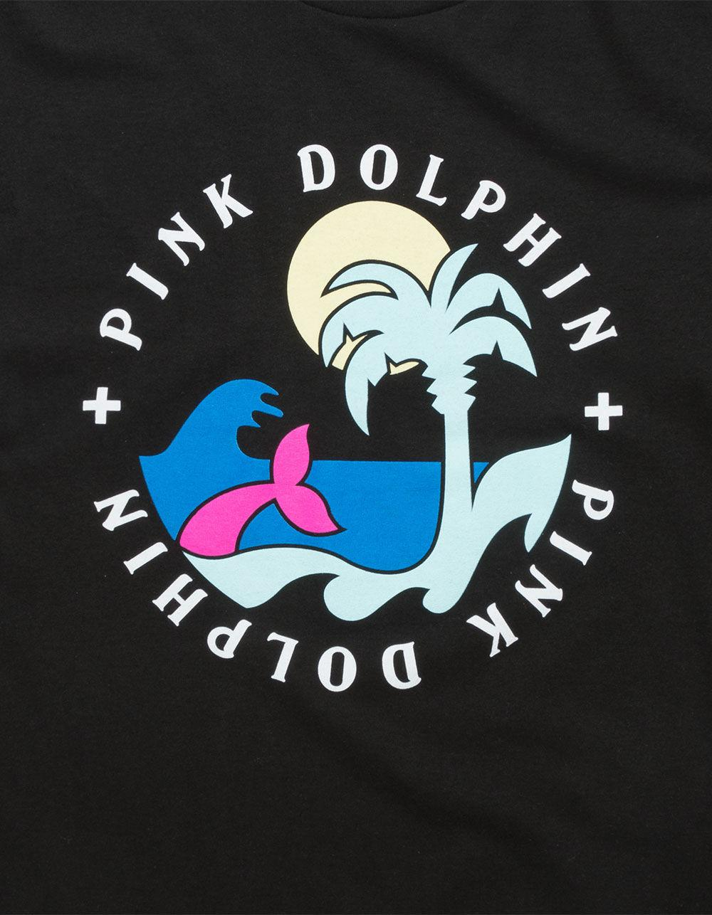 86f5efc6 Lyst - Pink Dolphin Paradise Mens T-shirt in Black for Men