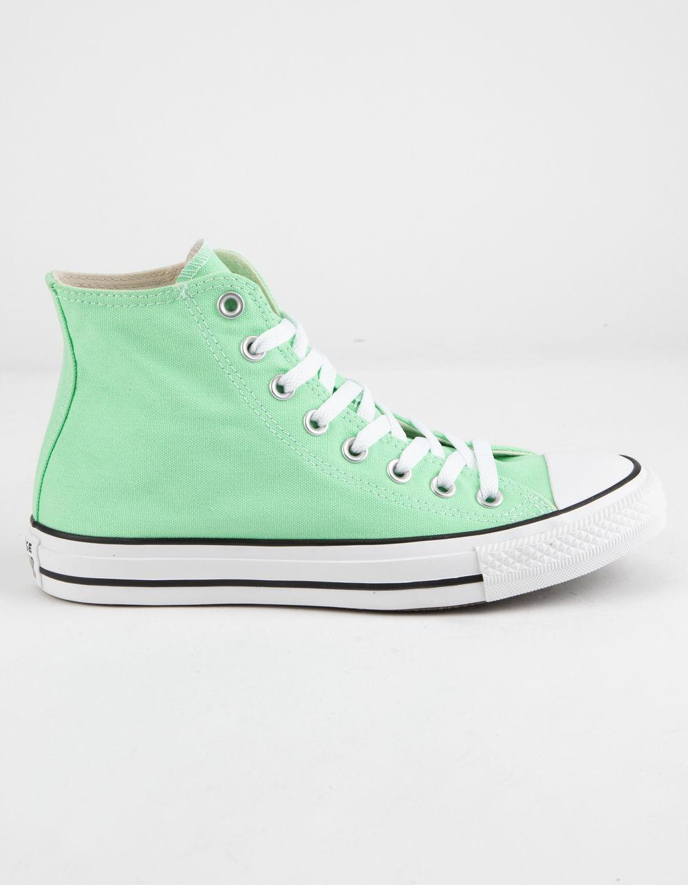 ba03f724988ce0 Converse. Chuck Taylor All Star Light Aphid Green High Top Womens Shoes