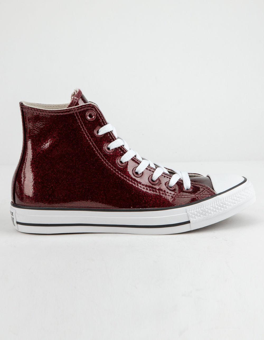 59bf3386eb15 Converse. Chuck Taylor All Star Wonderworld Dark Burgundy High Top Womens  Shoes