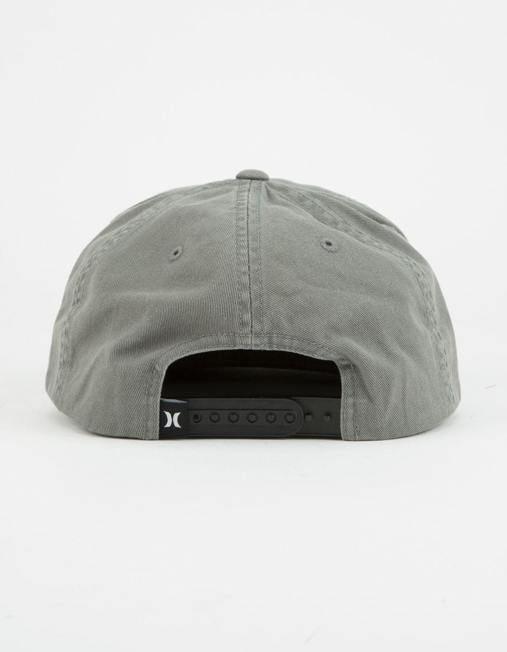 d4c988364c7b6d ... where to buy lyst hurley roped in mens snapback hat in gray for men  28543 32375