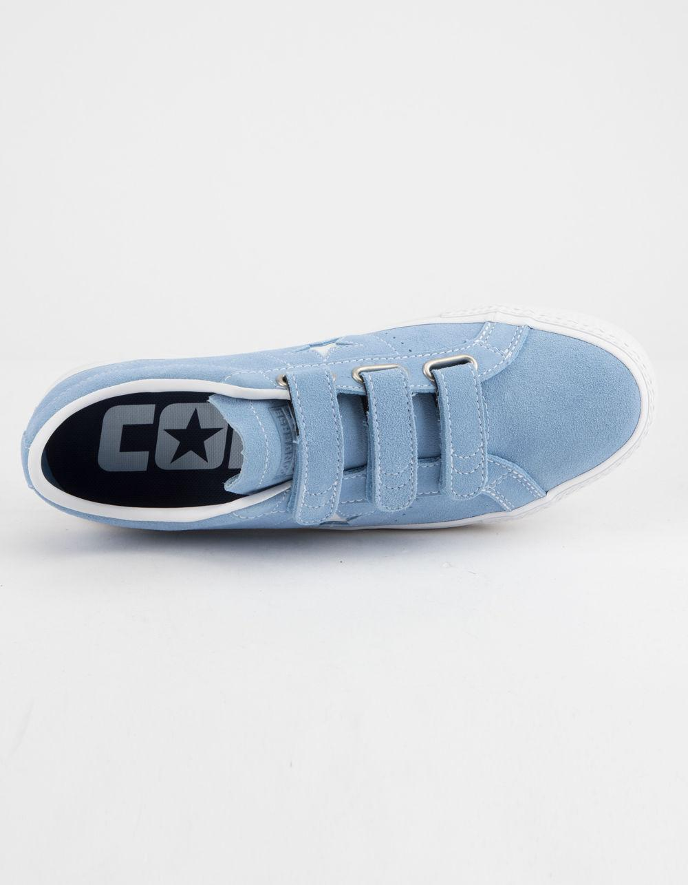 b3384c11eb0 Converse Unisex Breakpoint Pro Ox Skate Shoe Unisexs Converse  brand new  dbc43 49f64 Converse - One Star Pro 3v Ox Light Blue White Shoes for ...