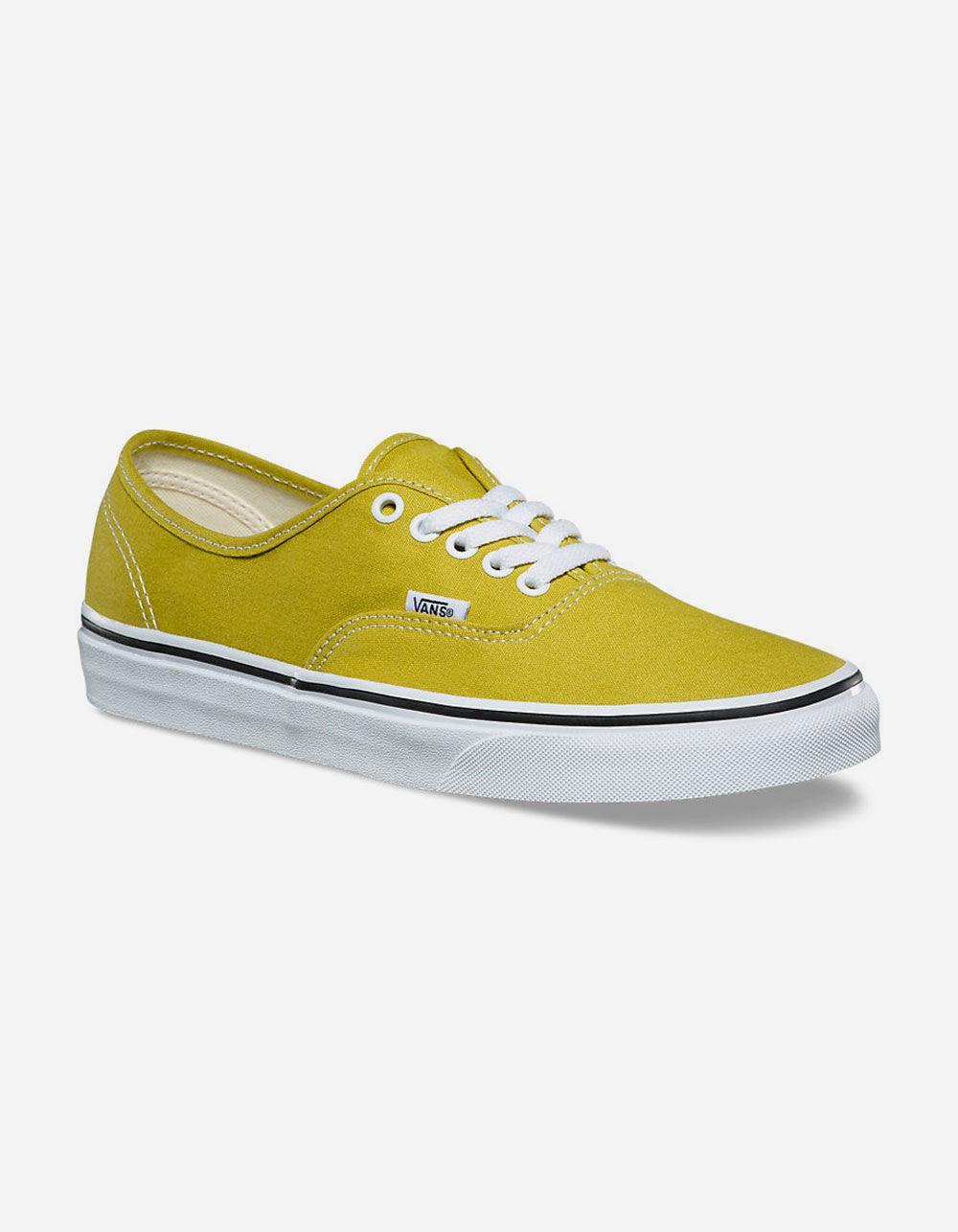 c72a7a14e7 Lyst - Vans Authentic Cress Green   True White Mens Shoes for Men - Save 61%