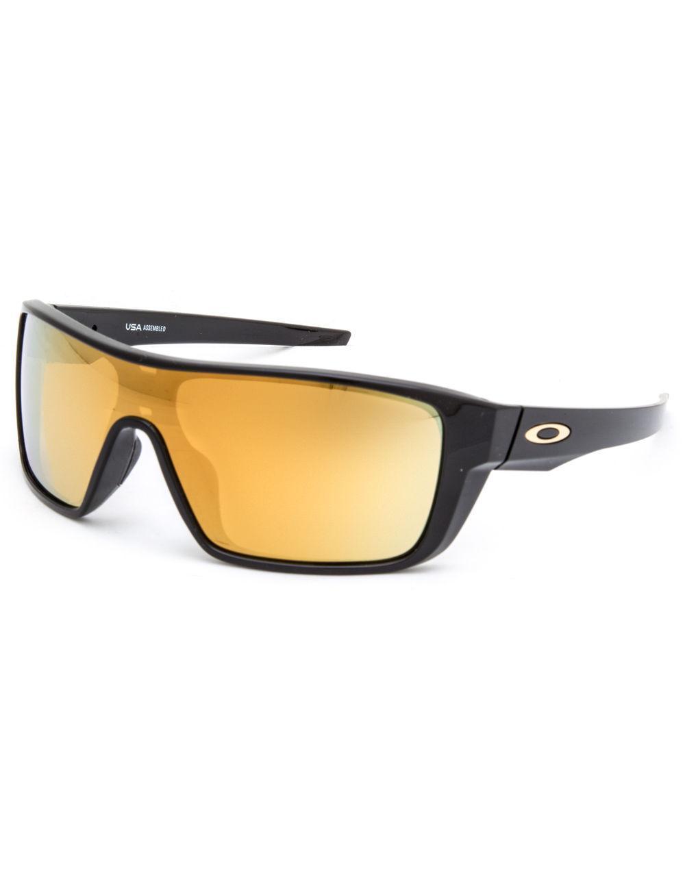 Lyst - Oakley Straightback Polished Black   24k Iridium Sunglasses ... bf3860b44b