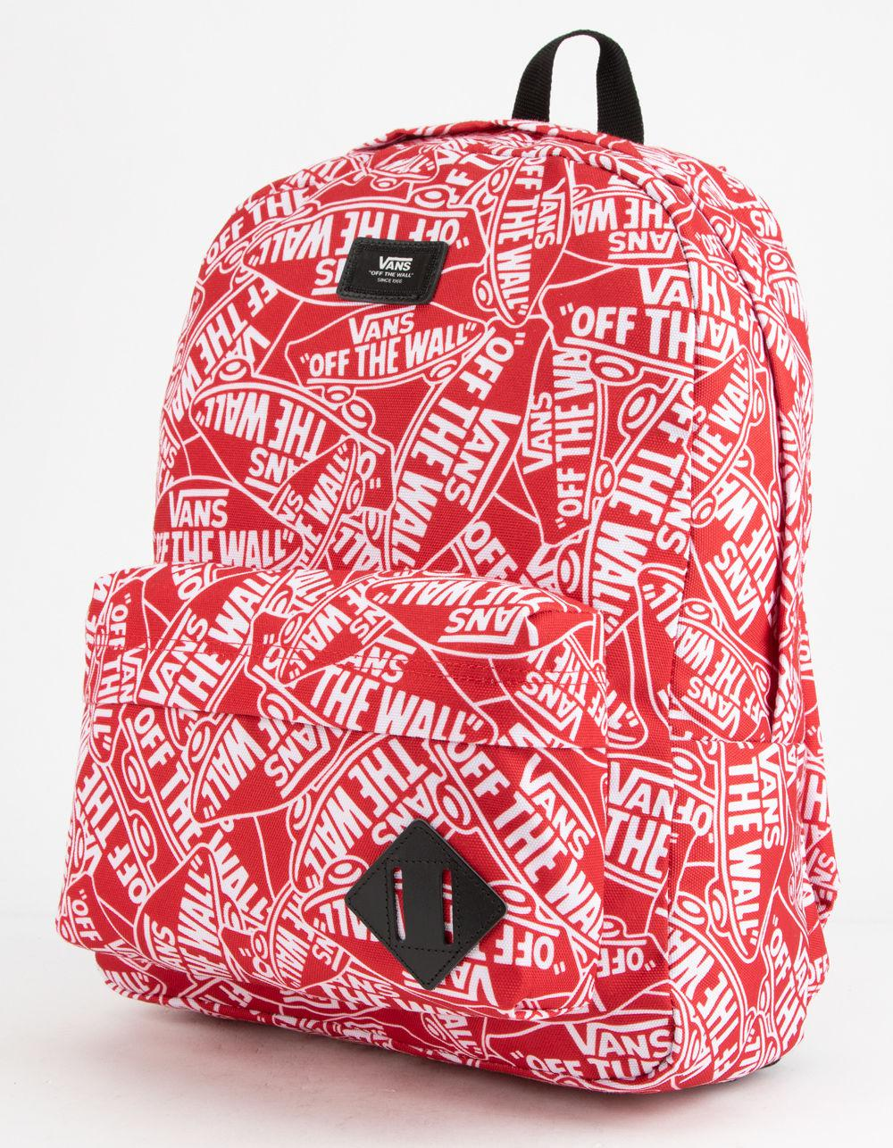 Lyst - Vans Old Skool Ii Red Backpack in Red