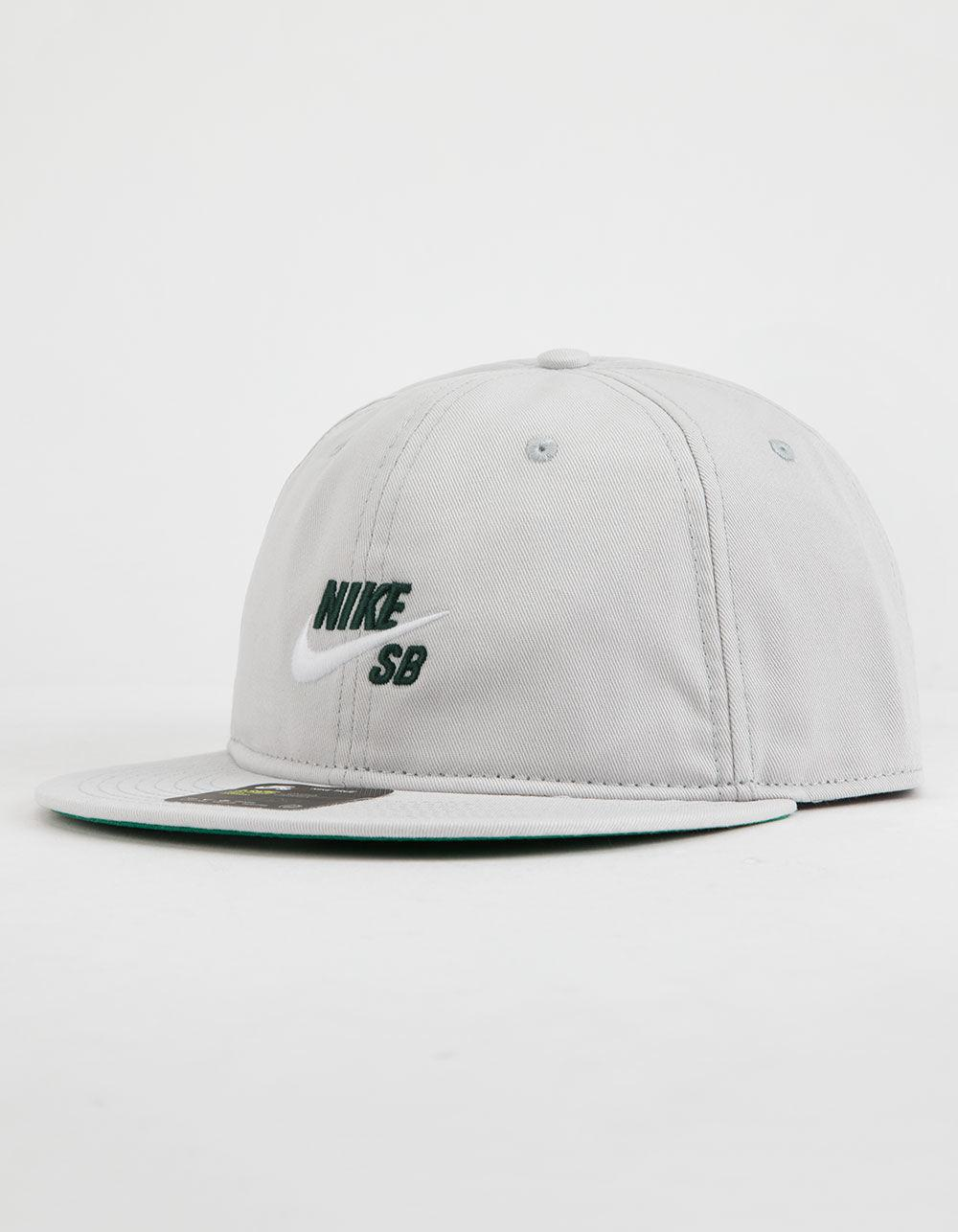 3bb66e00a9a41 Lyst - Nike Vintage Pro Mens Gray Snapback Hat in Gray for Men