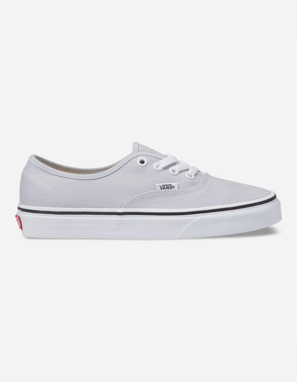 b675901308 Lyst - Vans Authentic Gray Dawn   True White Womens Shoes in White
