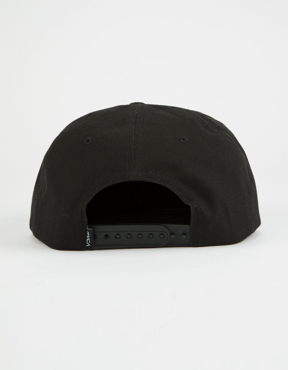 45c4645587faf ... reduced lyst rvca parrots unstructured mens snapback hat in black for  men 3a326 80d04