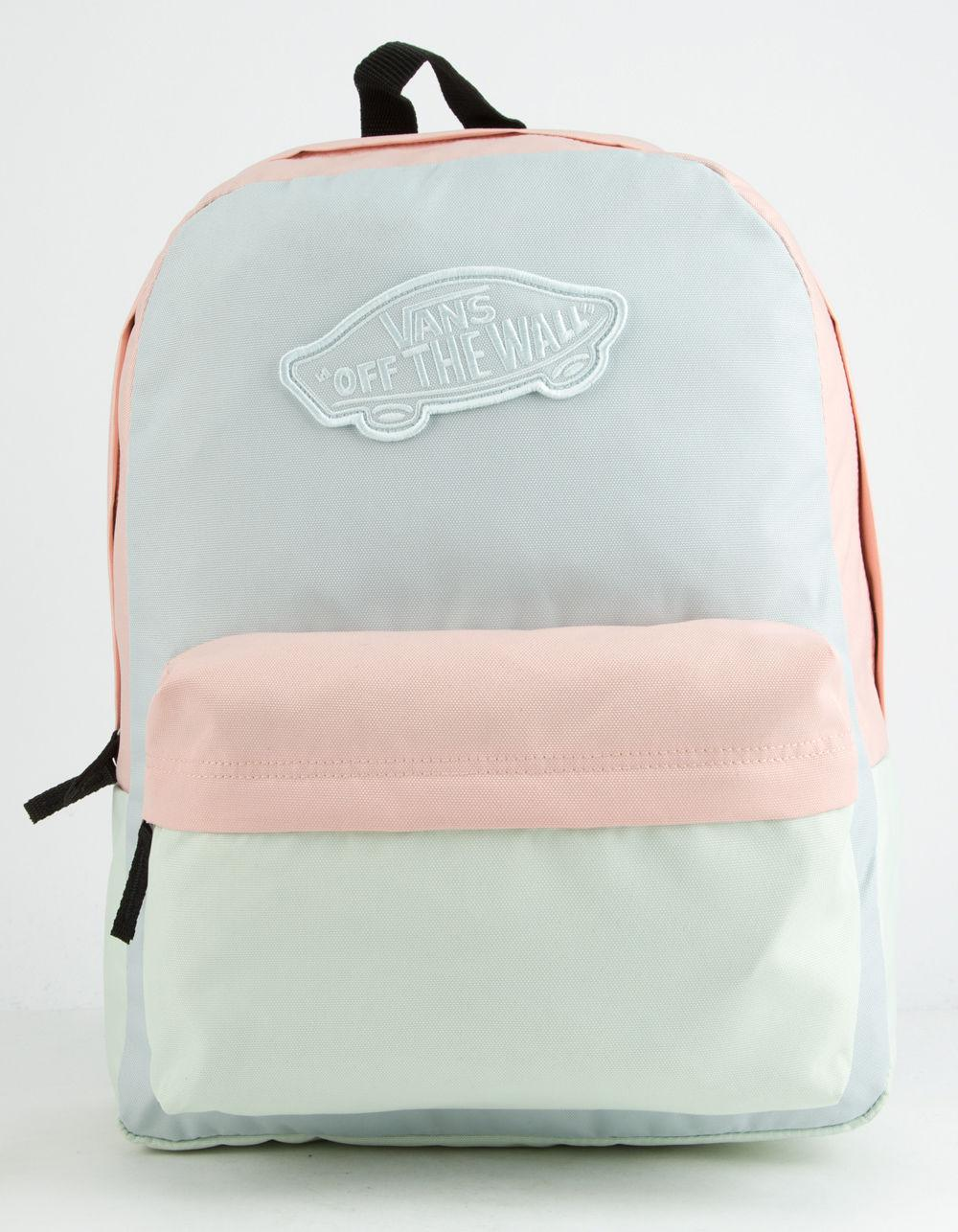 fdf36465ba0 Lyst - Vans Realm Color Block Womens Backpack