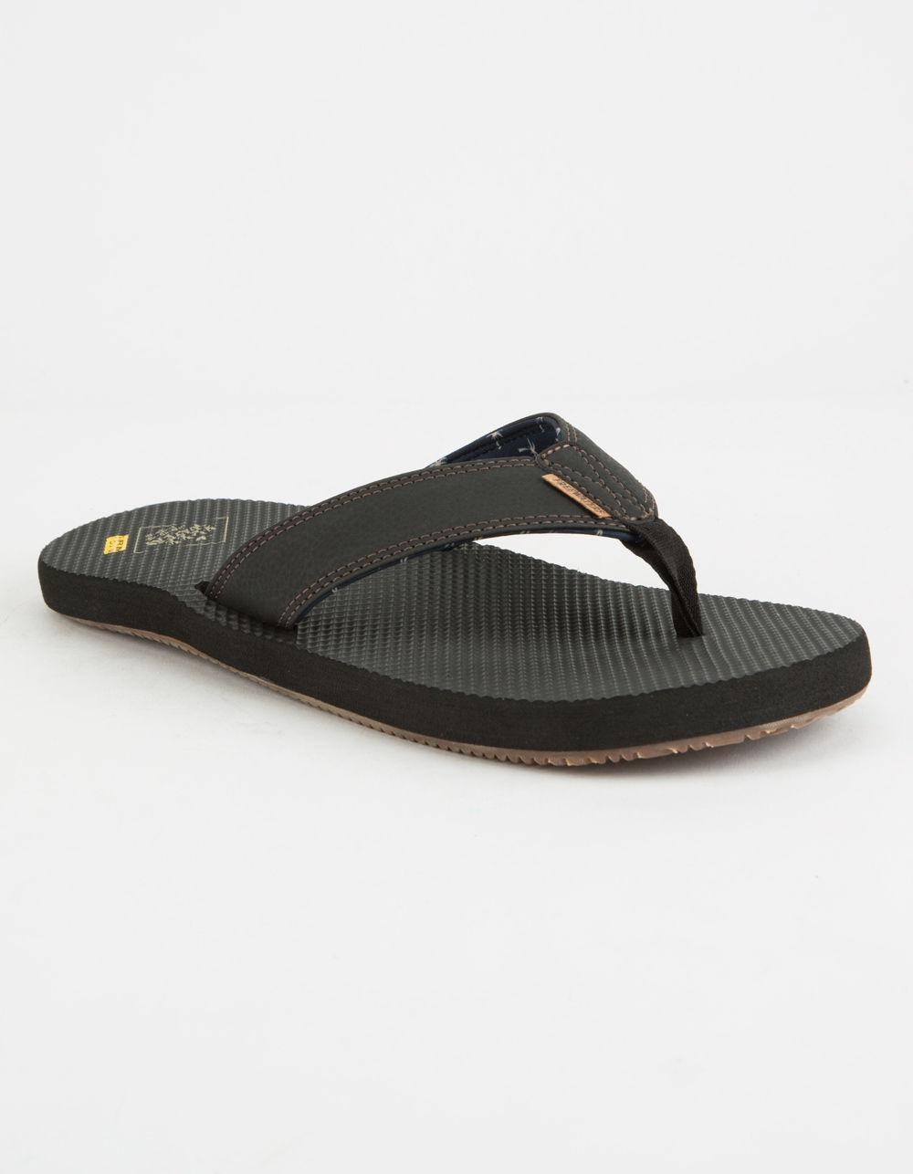 079370e4d43 Lyst - Freewaters Supreem Dude Black Mens Sandals in Black for Men