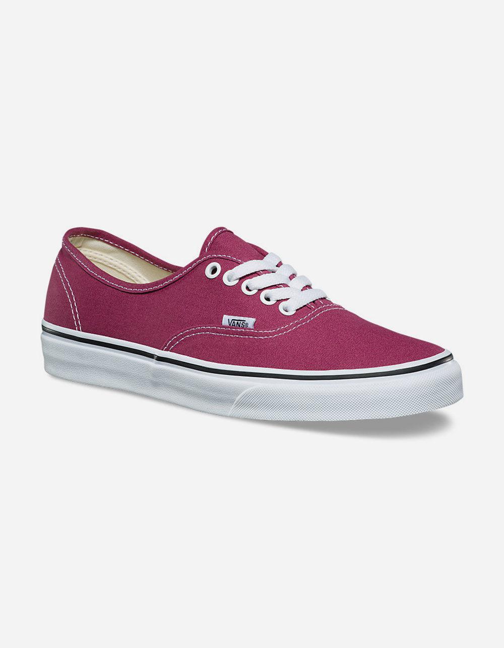 dda95358984 Lyst - Vans Authentic Dry Rose   True White Womens Shoes