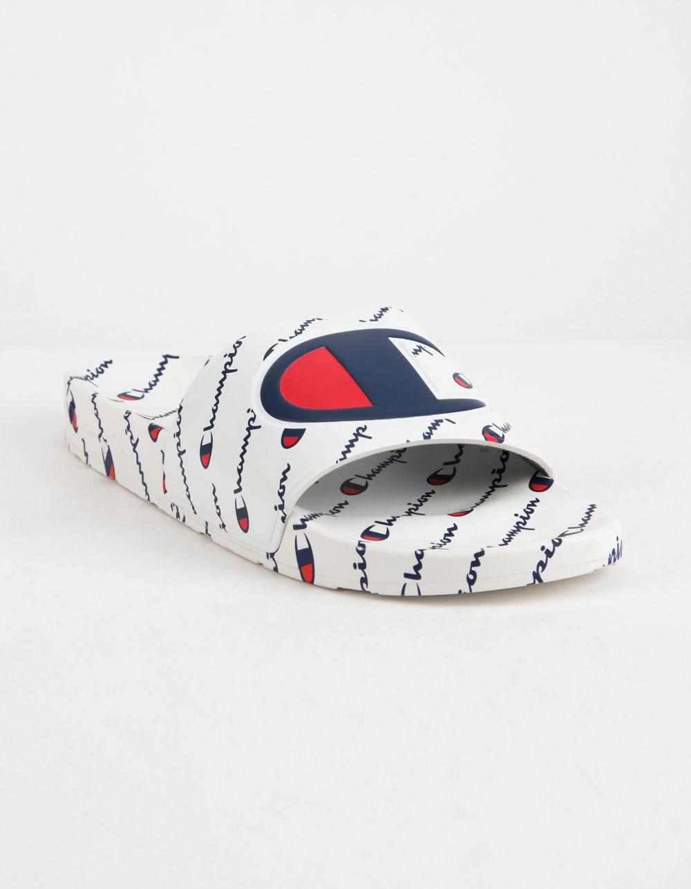 1cde02576d8d Lyst - Champion Ipo Repeat White Mens Sandals in White for Men