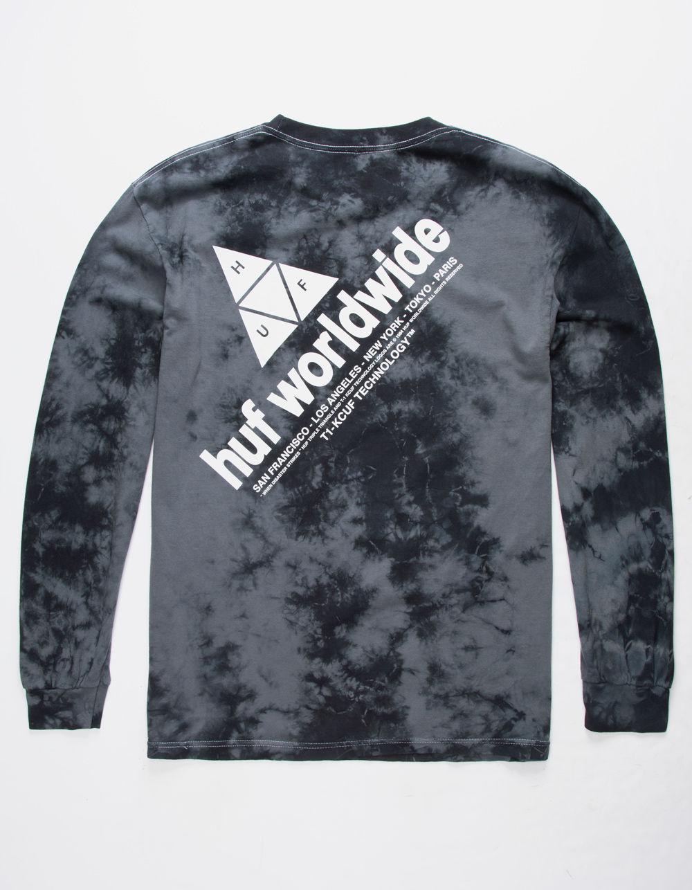 033b04684ffb2 Lyst - Huf Peak Logo Mens T-shirt in Black for Men