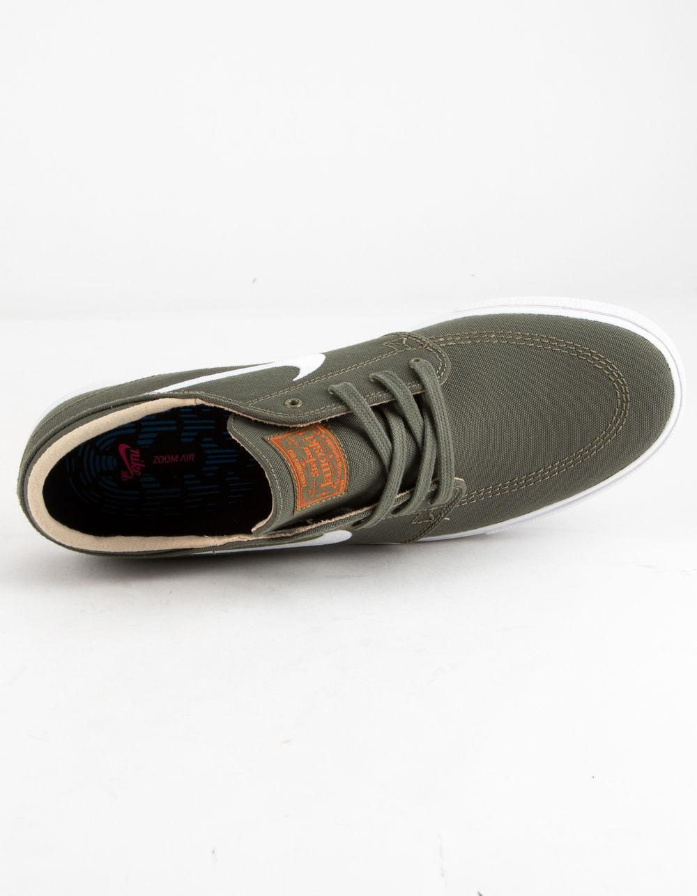4378c041a2 Nike - Green Zoom Janoski Canvas Rm Medium Olive Mens Shoes for Men - Lyst.  View fullscreen