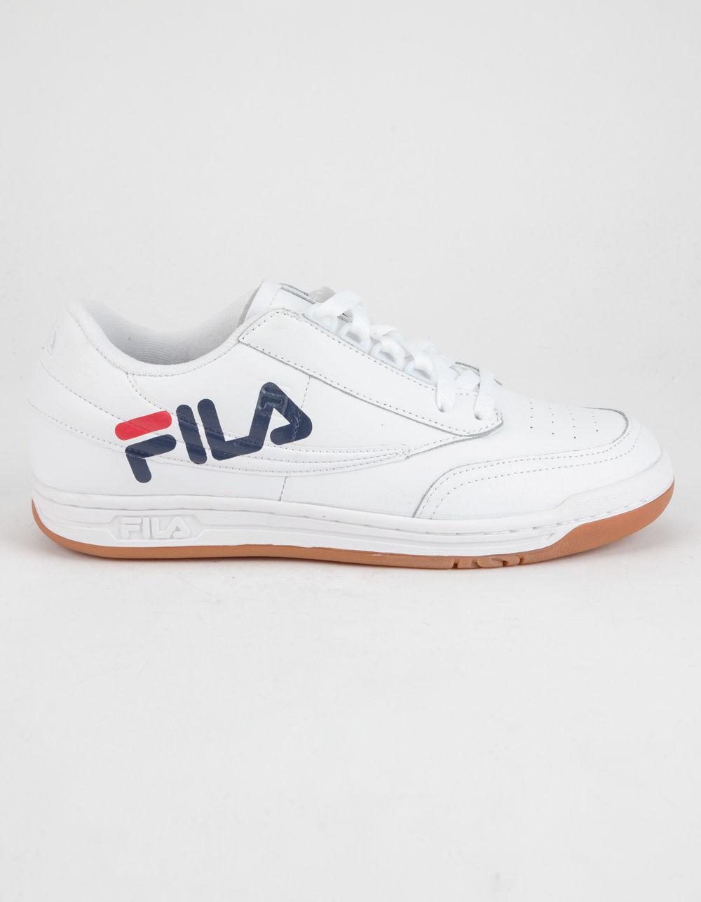 1ed4b95970e7 Lyst - Fila Original Tennis Logo Mens Shoes in White for Men