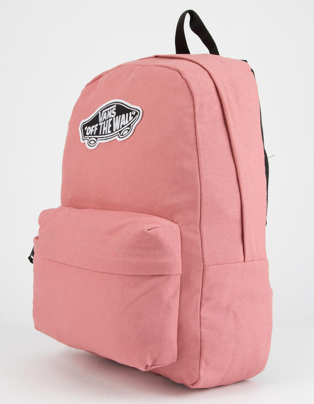 0cf3f45f055 Lyst - Vans Realm Dusty Rose Backpack in Pink