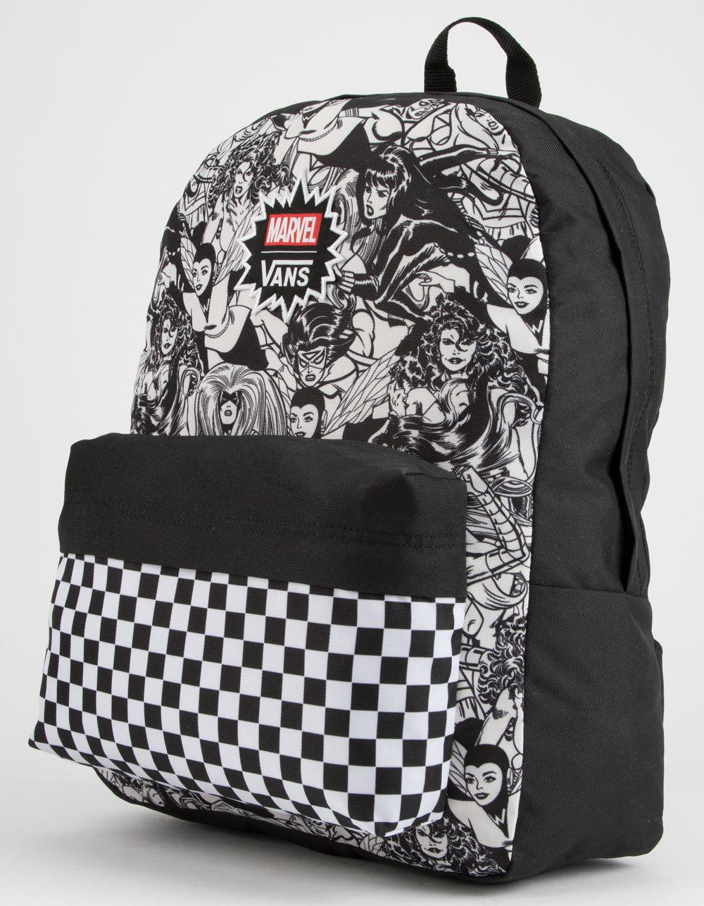 450d4a04aa Lyst - Vans X Marvel Marvel Women Realm Backpack in Black