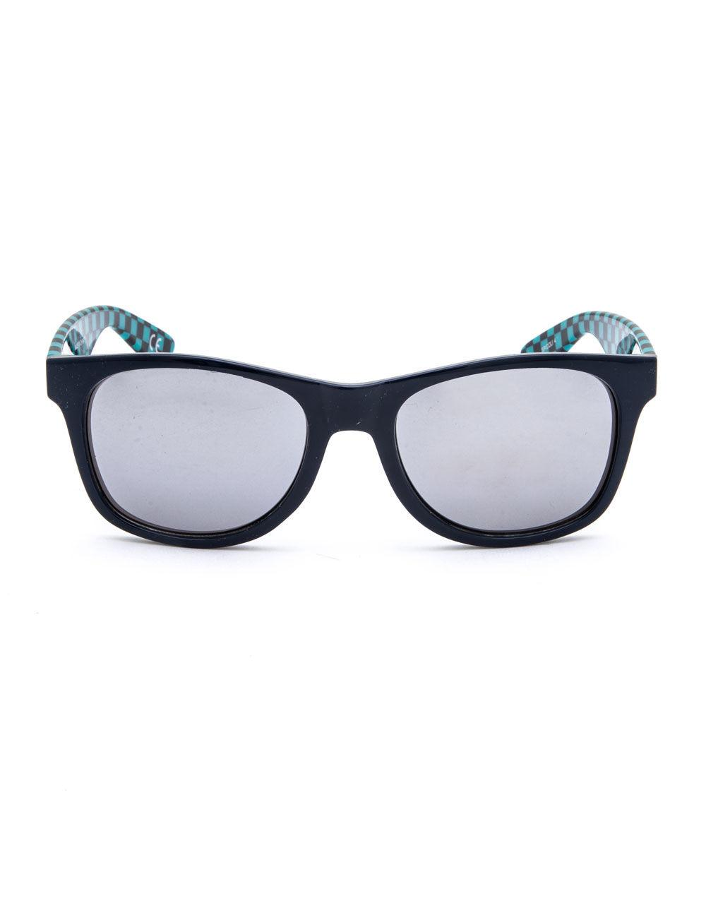 47022c19a04 Lyst - Vans Spicoli Check   Blue Sunglasses in Blue