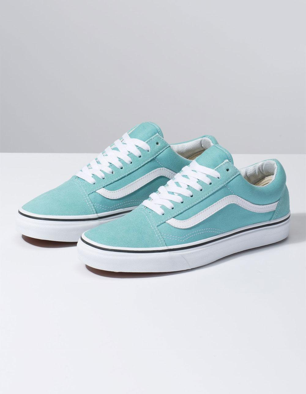 e9dc8f3c67 Lyst - Vans Old Skool Aqua Haze   True White Shoes
