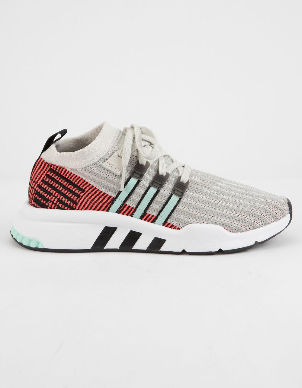 info for ce222 da0ee Adidas - Gray Eqt Support Mid Adv Primeknit Shoes - Lyst. View fullscreen