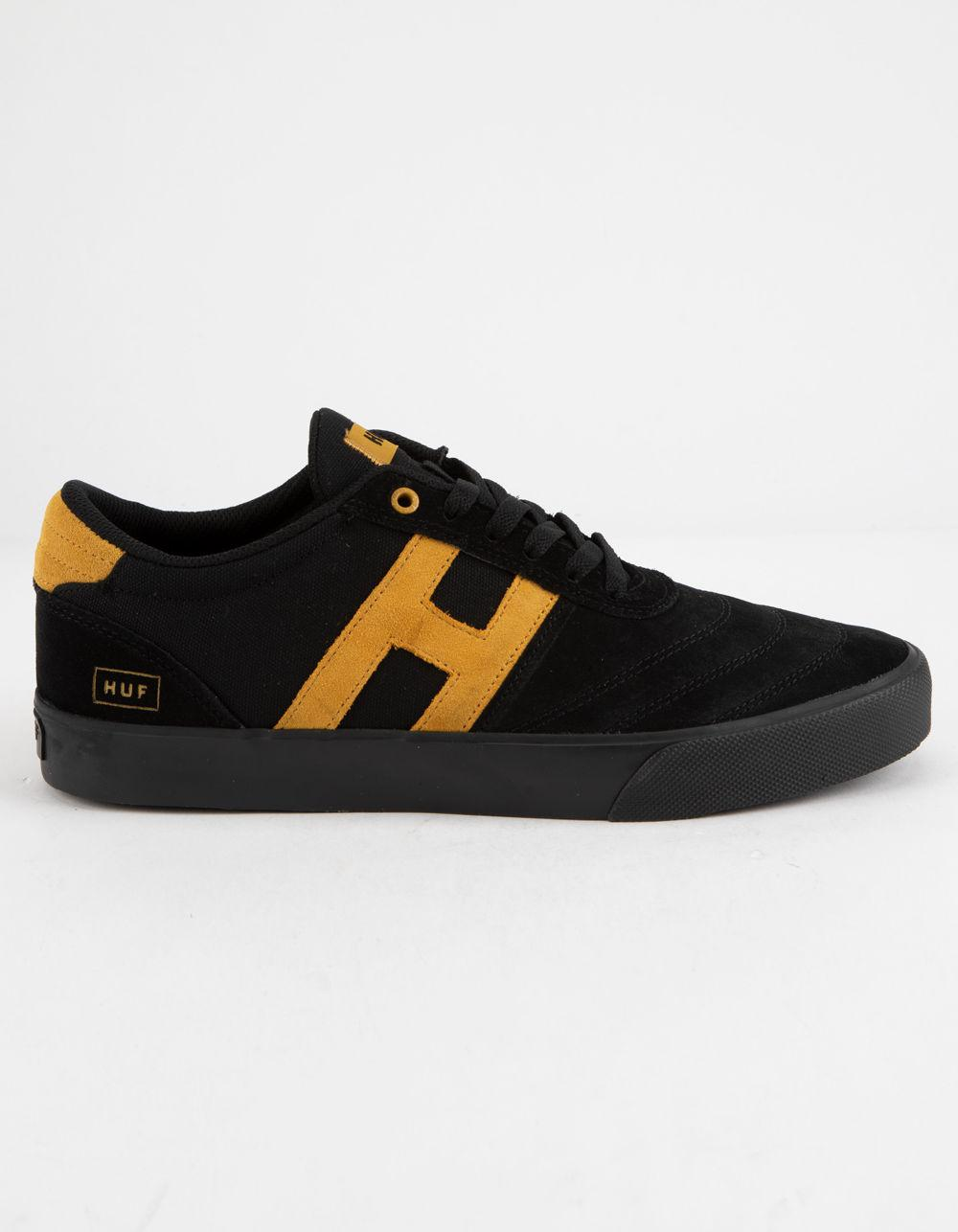 7cc44cd35a31 Huf - Galaxy Trainers In Black for Men - Lyst. View fullscreen
