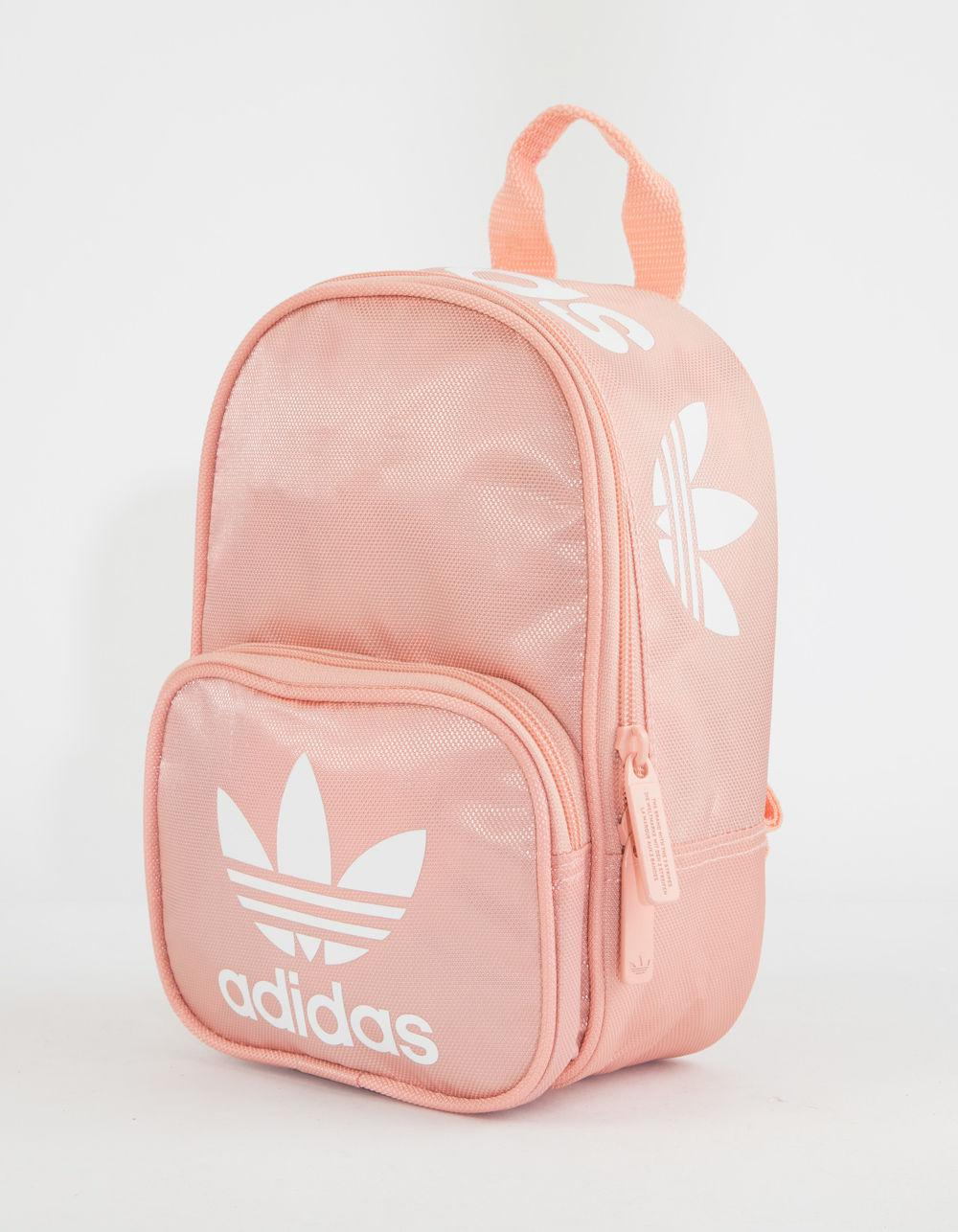 Lyst - adidas Originals Santiago Pink Mini Backpack in Pink 3210fe51493f0