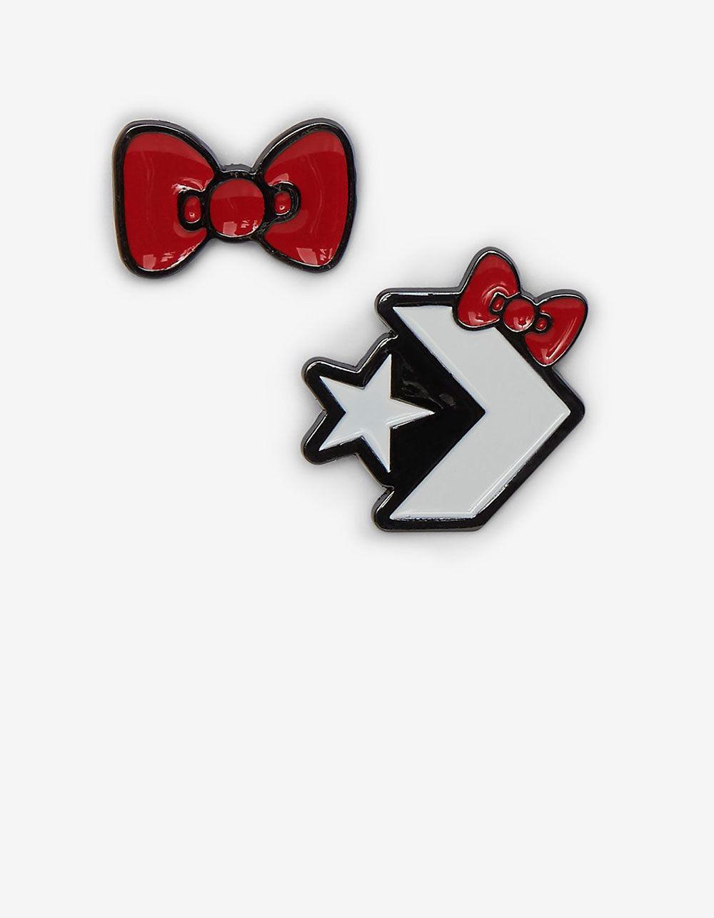 Lyst - Converse X Hello Kitty Black Mini Crossbody Bag in Black f351337bff