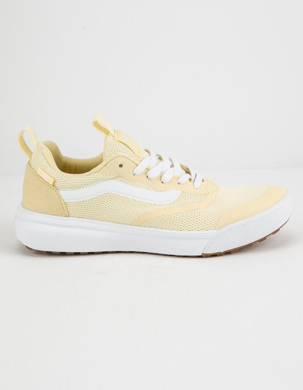 vans woman shoes yellow
