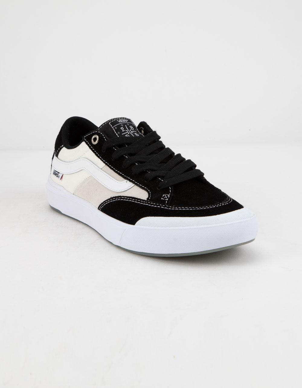 0a672dd153c Lyst - Vans Berle Pro Black   White Mens Shoes in Black for Men