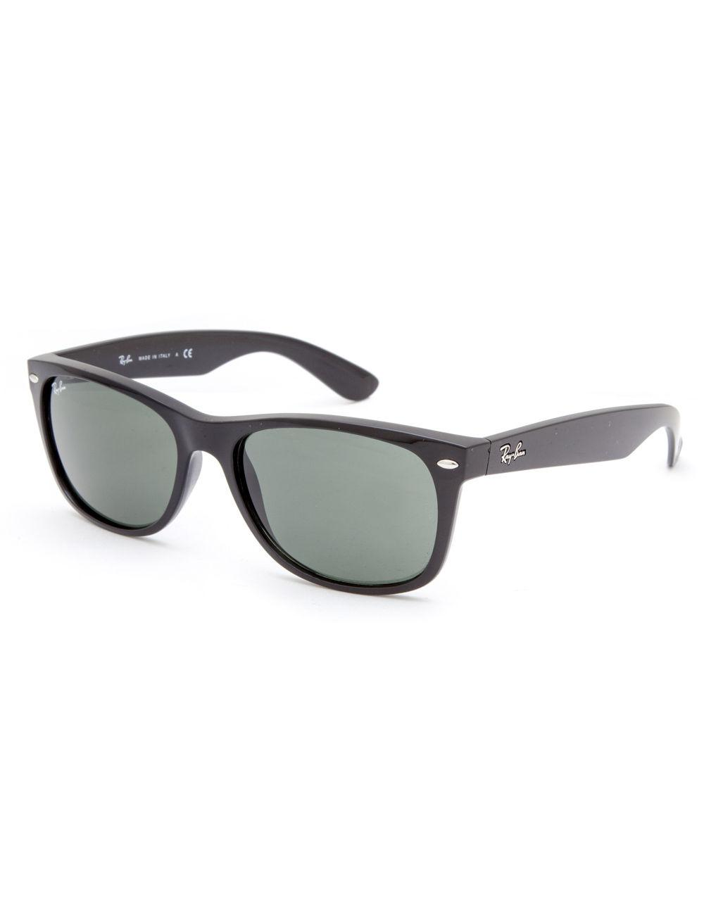 b7ee2e0a58 Lyst - Ray-Ban New Wayfarer Sunglasses in Black for Men - Save 12%