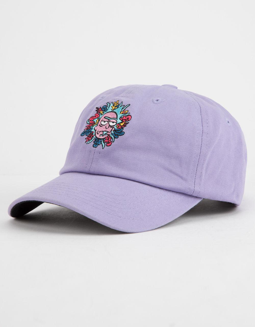55a809d0573 Lyst - Primitive X Rick And Morty Lavender Dad Hat in Purple for Men