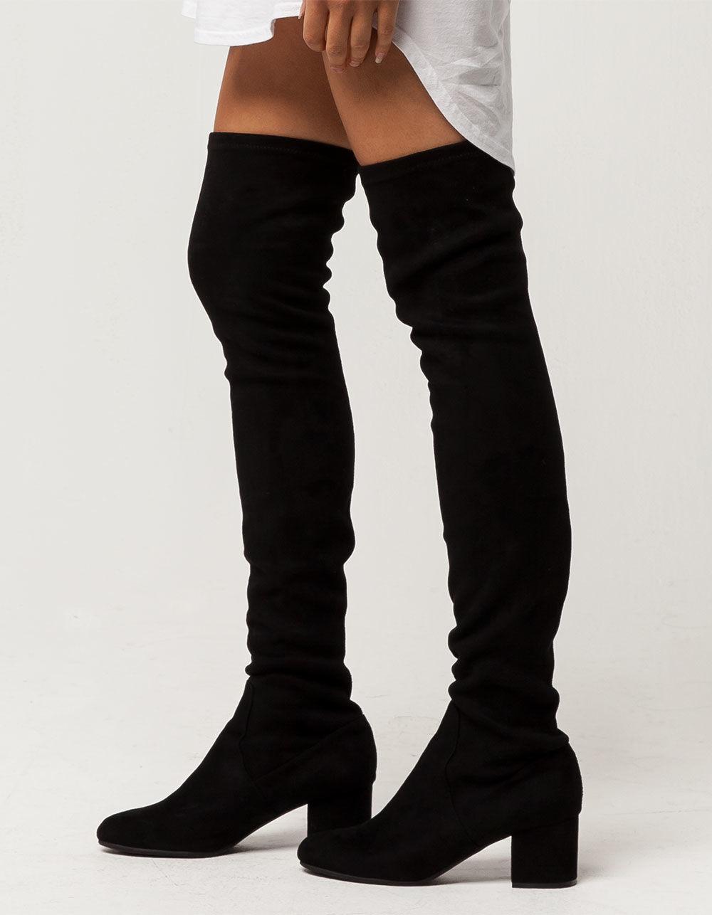 54bb28b3f7b Lyst - Steve Madden Isaac Womens Boots in Black