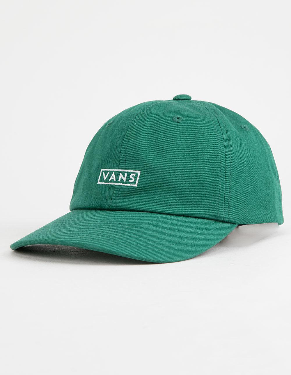 60f17e43502dd9 Vans - Green Curved Bill Jockey Mens Strapback Hat for Men - Lyst. View  fullscreen