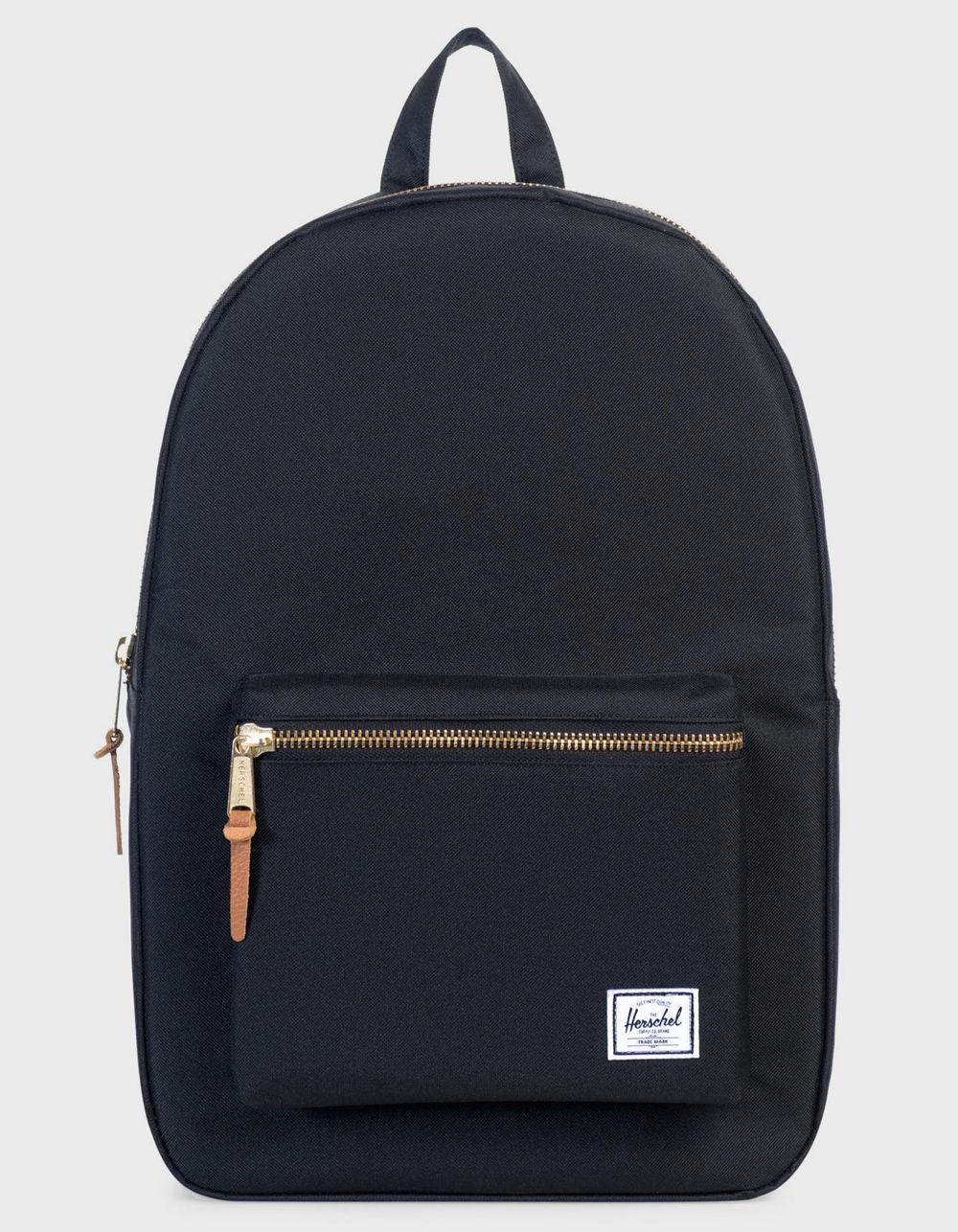 560275eebeb Lyst - Herschel Supply Co. Settlement Black Backpack in Black for Men