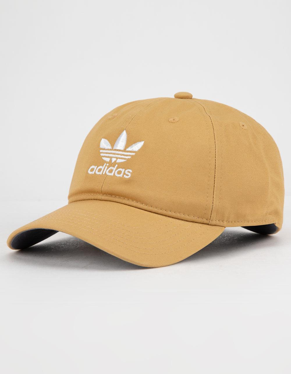 eeb1678825a Adidas - Natural Originals Relaxed Raw Sand Mens Strapback Hat for Men -  Lyst. View fullscreen
