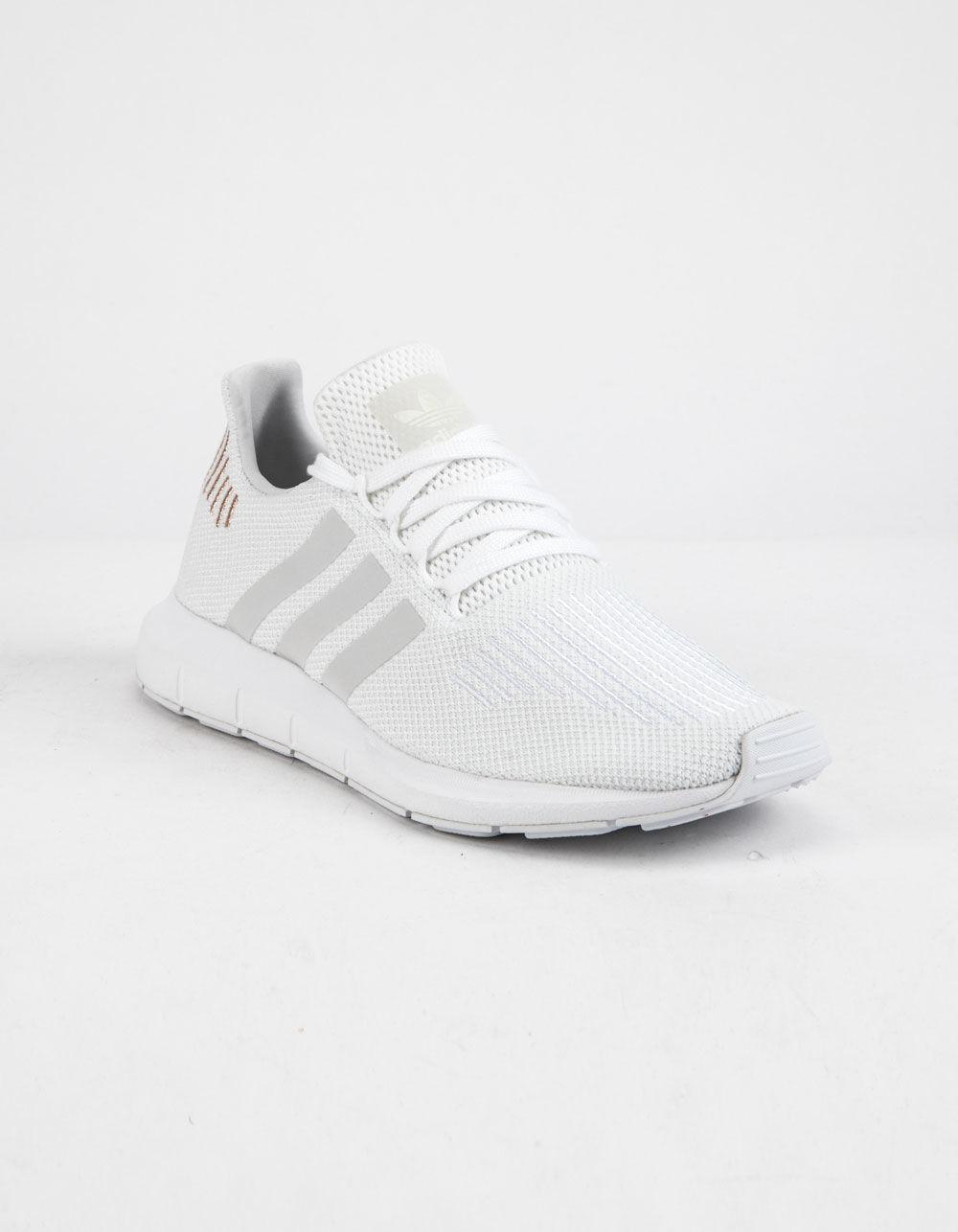 Lyst - adidas Swift Run Cloud White   Crystal White Womens Shoes in White 6228332b9