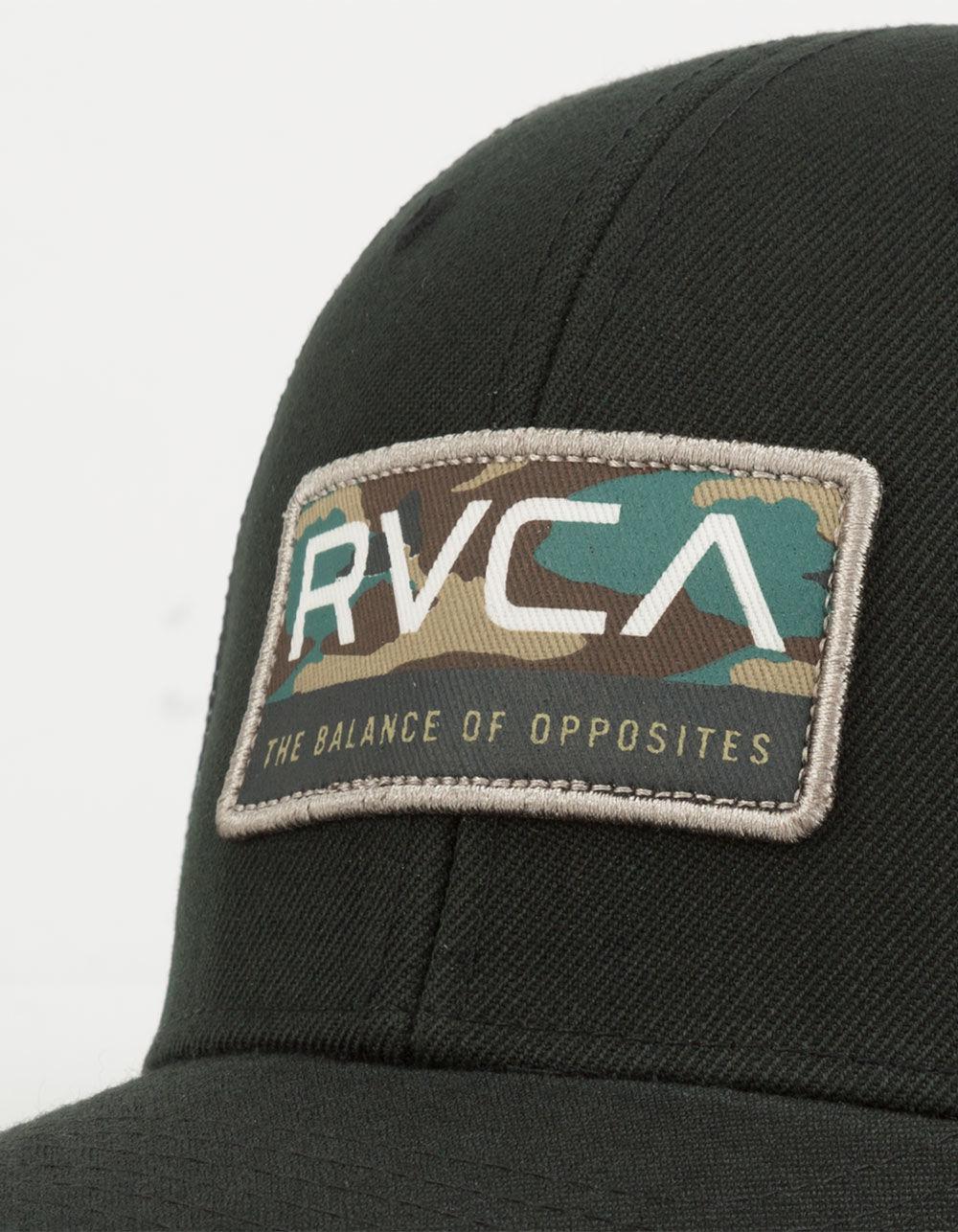 separation shoes a014e c1d54 Lyst - RVCA Reno Mens Trucker Hat in Black for Men