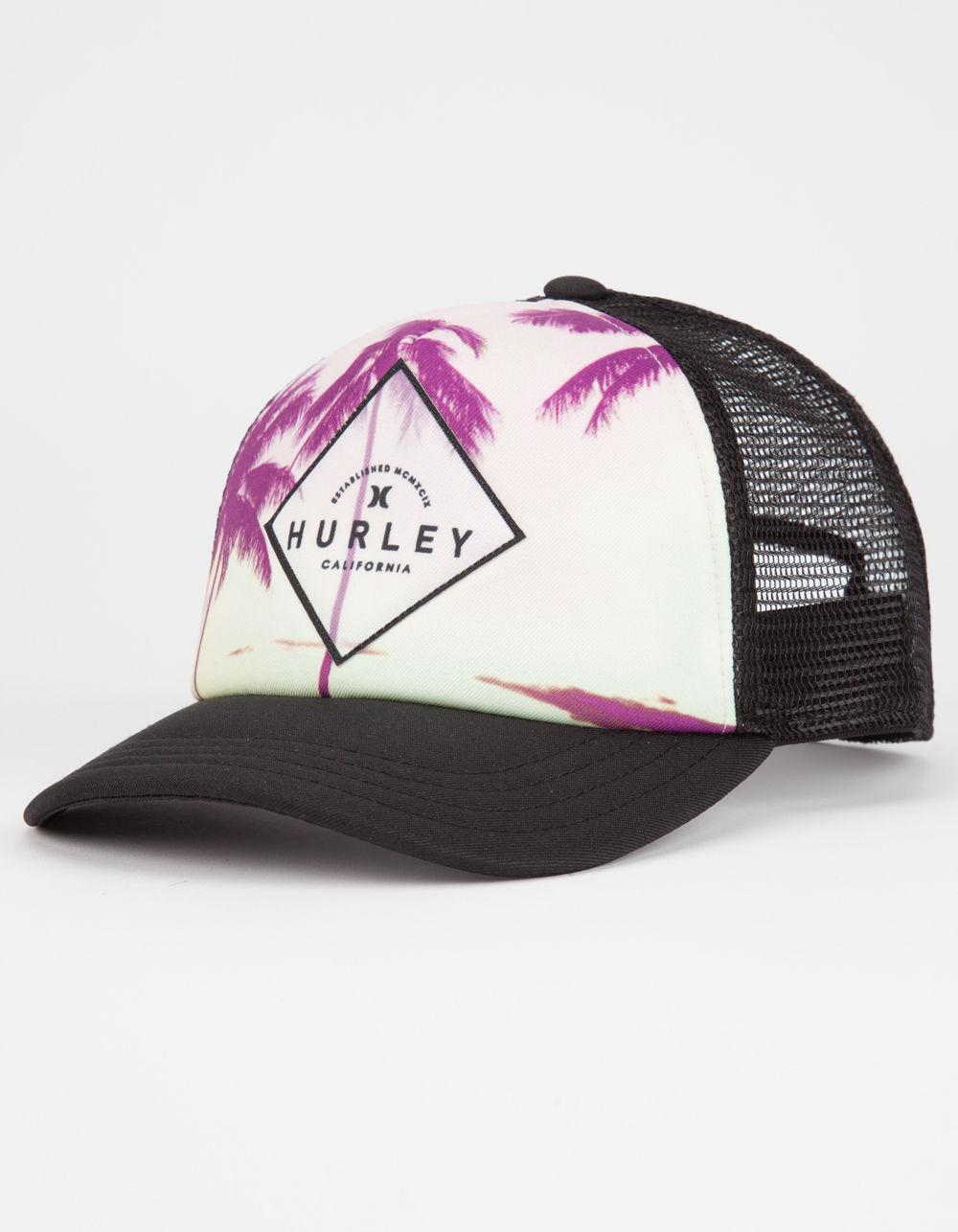 1f0ea3b576c21 ... australia lyst hurley goldenwest womens trucker hat in black 9753d  1c323 ...