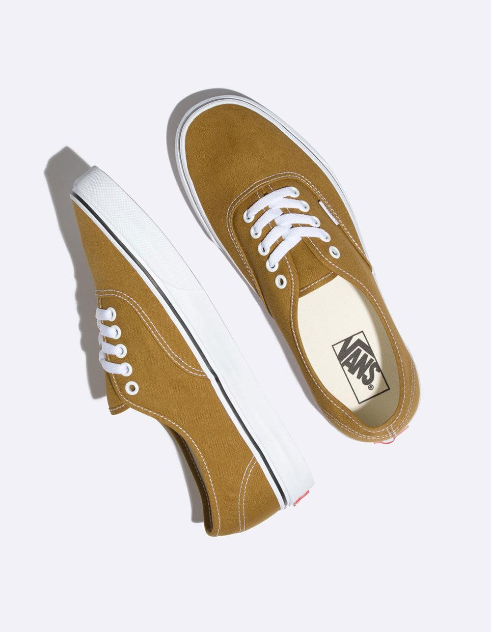 bc6ba90901 Lyst - Vans Authentic Cumin   True White Shoes in White for Men