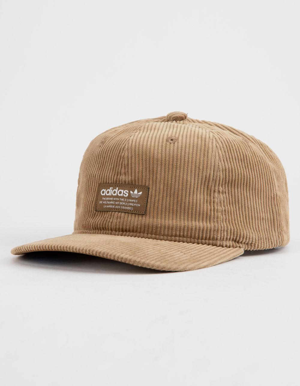 3bd8c9fcaa7 Adidas - Brown Originals Relaxed Wide Wale Corduroy Mens Strapback Hat for  Men - Lyst. View fullscreen