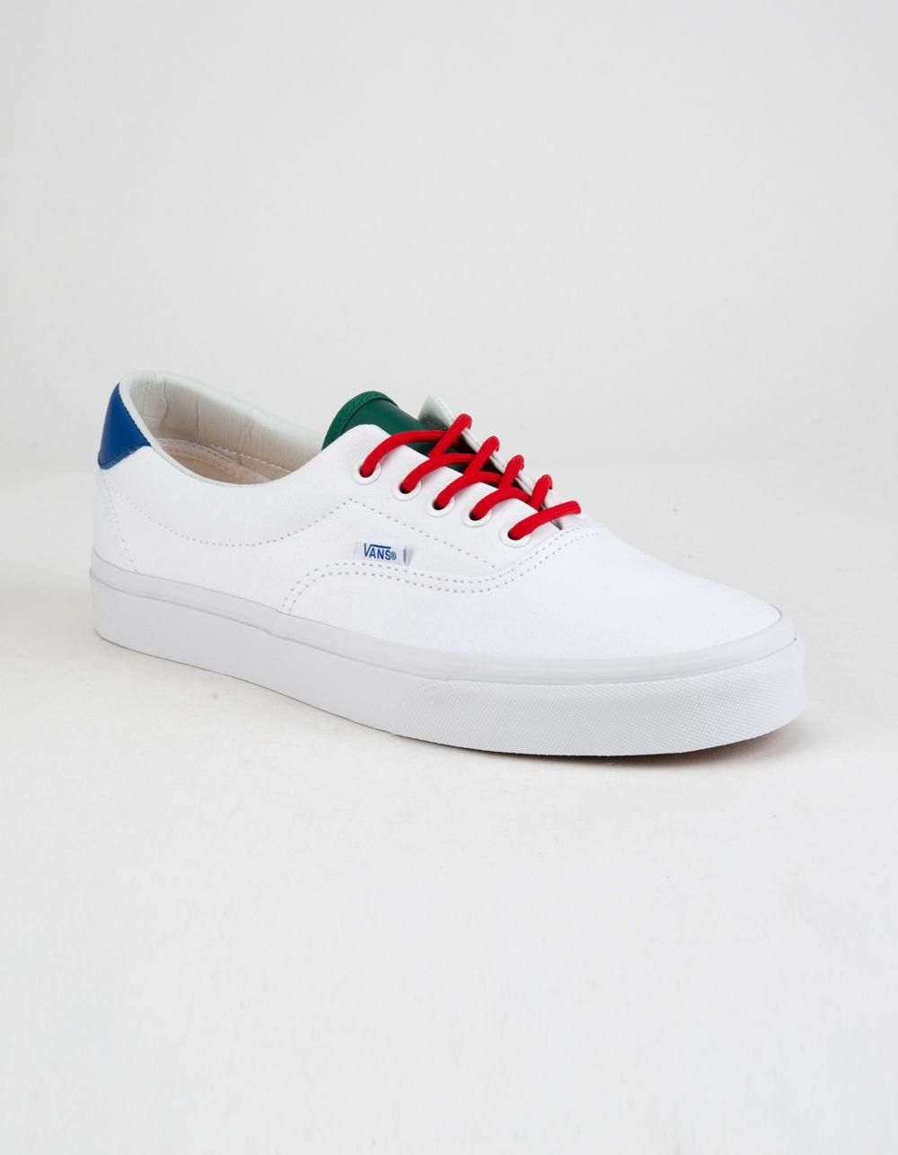 Lyst - Vans Yacht Club Era 59 True White Mens Shoes in White for Men b603dde40