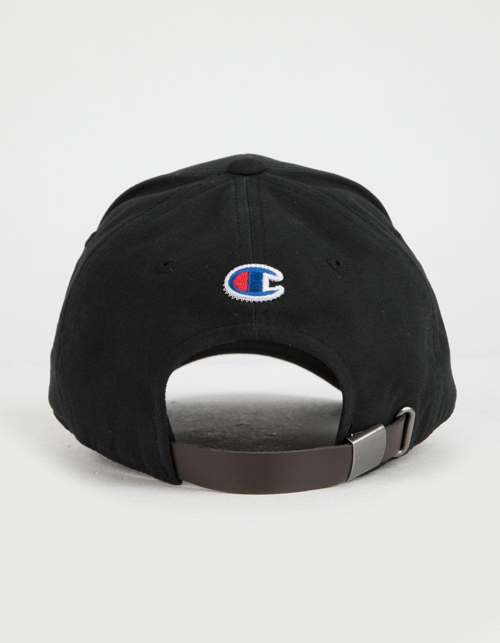 9fed46fa Lyst - Champion Century Collection Classic Twill Black Mens Dad Hat ...