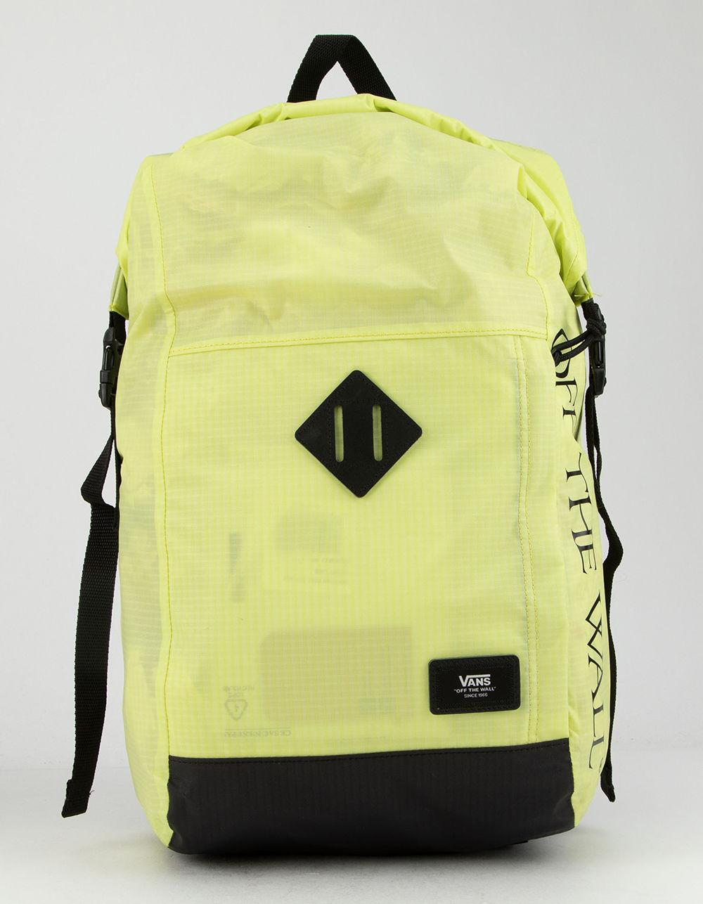 b2199e91d8 Vans - Multicolor Fend Roll Top Sunny Lime Backpack for Men - Lyst. View  fullscreen