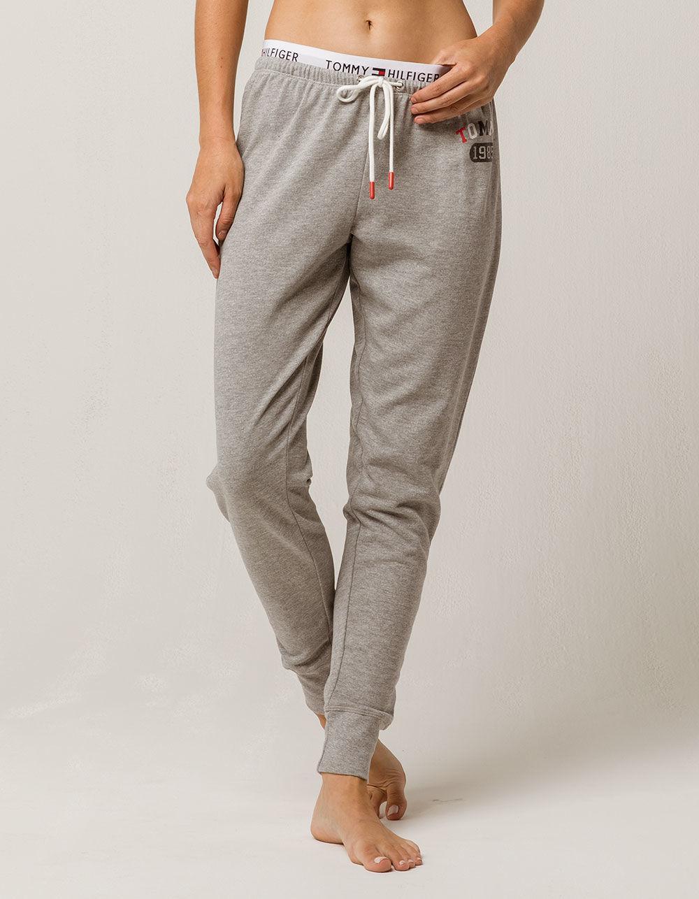16d310c6d773f Tommy Hilfiger Jogger Womens Sweatpants in Gray - Lyst