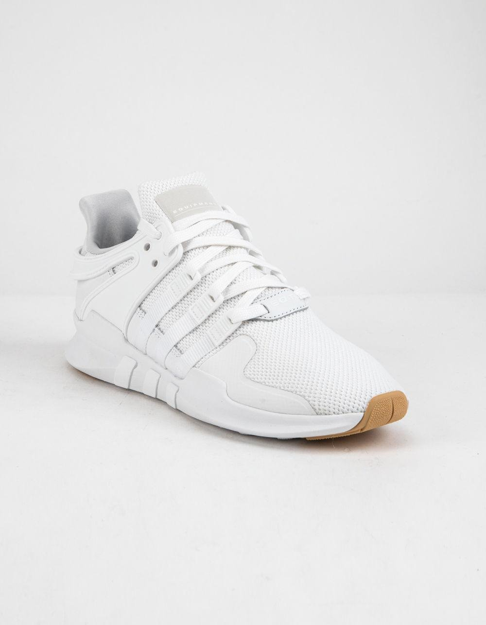 sports shoes de05f 8f752 Lyst - adidas Eqt Support Adv White Shoes in White for Men