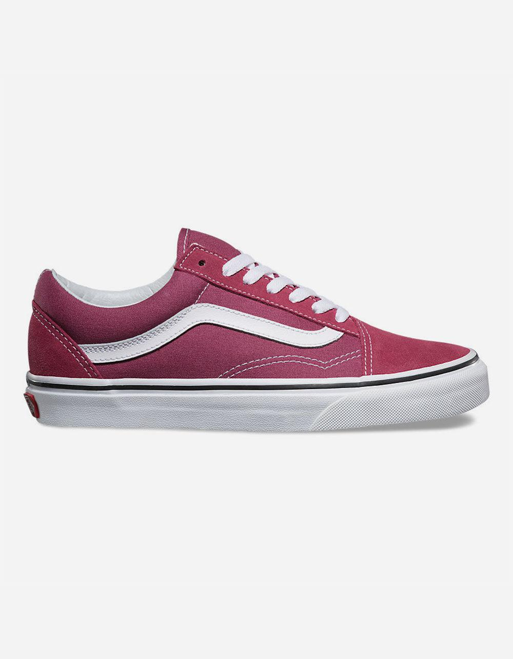 35c56bba062afd Lyst - Vans Old Skool Dry Rose   True White Womens Shoes - Save 15%