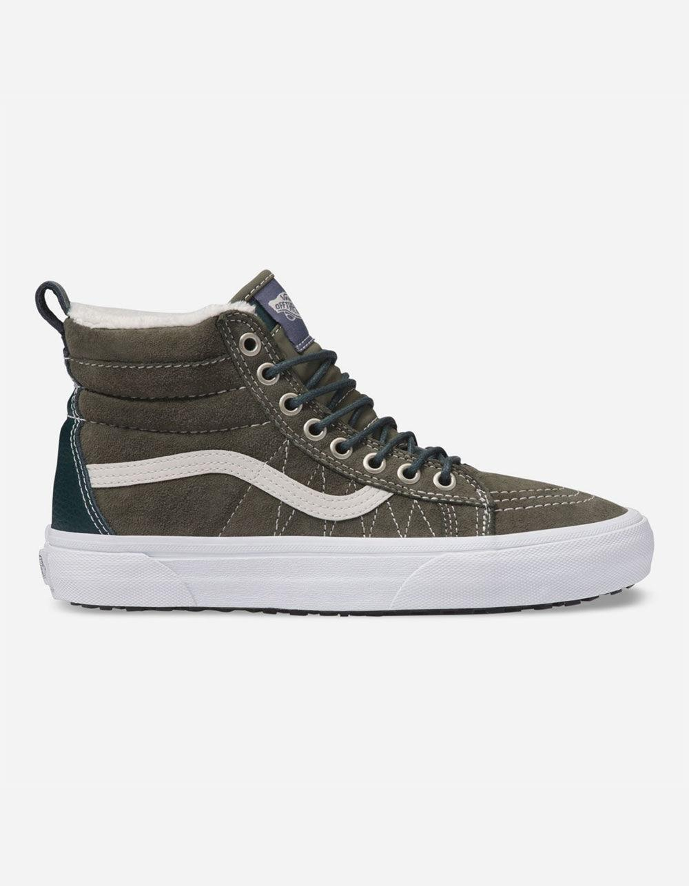 2ee360cc61 Lyst - Vans Sk8-hi Mte Dusty Olive Womens Shoes in Green